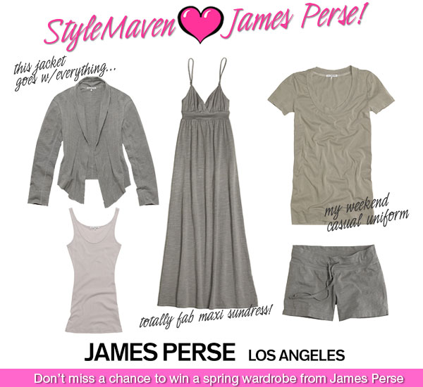 James Perse Spring Style Contest